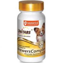 Unitabs BreversComplex с пивными дрожжами для мелких собак